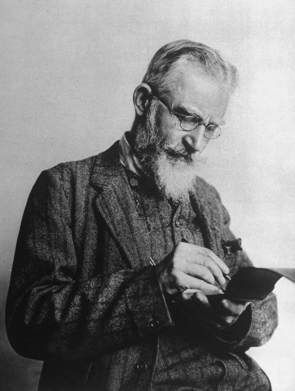 George Bernard Shaw - Public Domain Image from Wikimedia Commons.