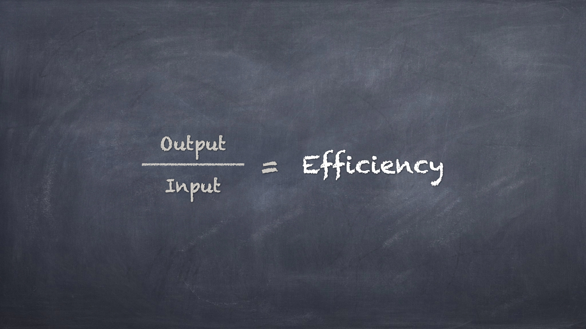 Input-Output Efficiency - Image by the Author